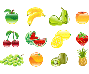 What fruits and vegetables are low in calories?